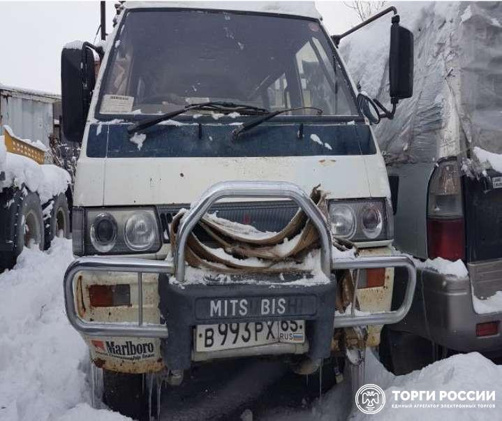 Mitsubishi Delica, VIN отсутствует, 1990 года выпуска, номер
